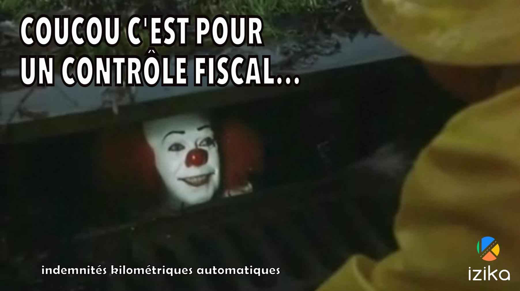 controle fiscal indemnités kilométriques